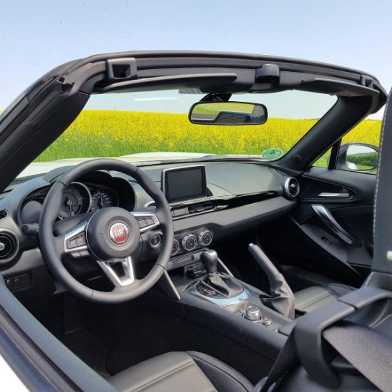 Fiat 124 Spider Automatik S-Design für 245 € brutto / Monat