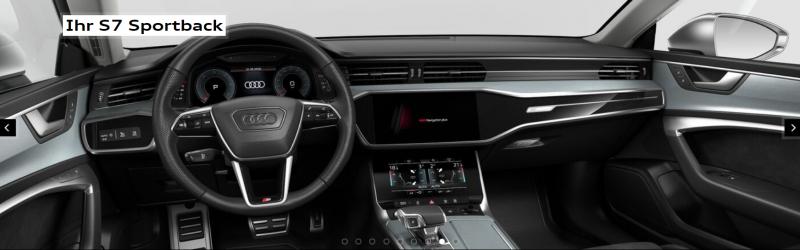 Der neue Audi S7 Sportback TDI (349 PS) als Gewerbeleasing für 599 € / Monat netto