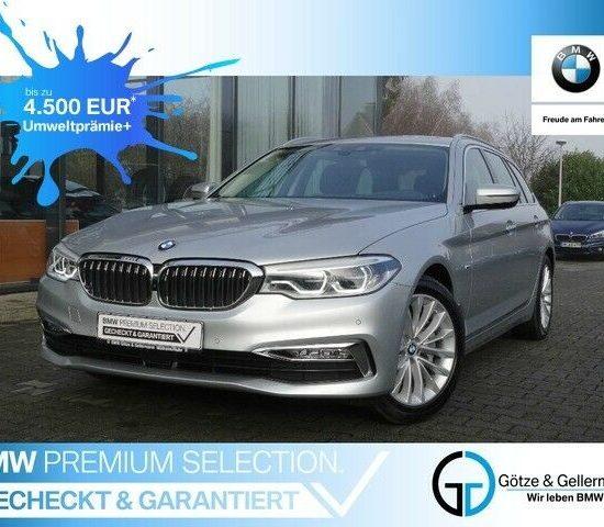 BMW 530 i Touring Luxury Line für einen Leasingfaktor von 0,47 (385€ / Monat netto)