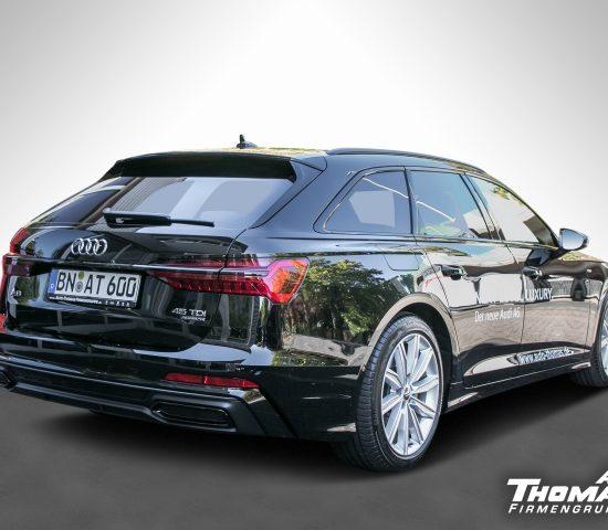 Audi A6 Avant Sport 4.5 TDI Quattro S-LINE für 389€ Netto pro Monat