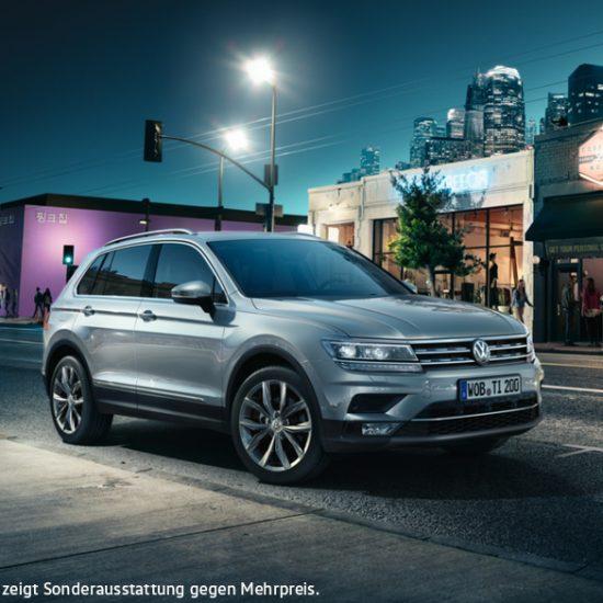 VW Tiguan R-Line Exterieur 2.0 (230 PS) für 139 € netto im Monat
